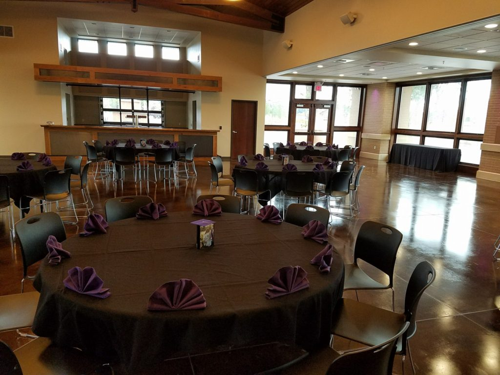 River Prairie Center Tables