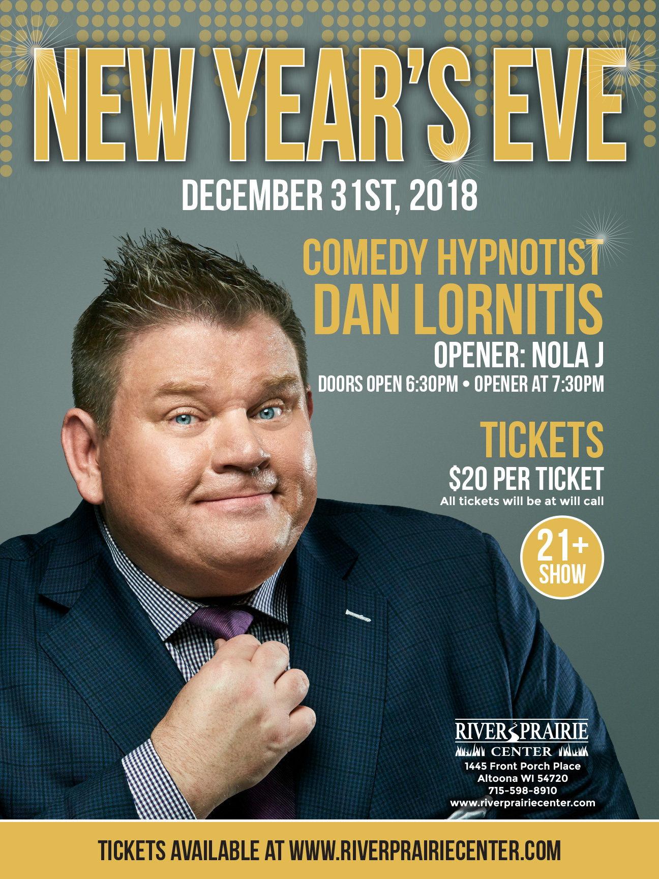Dan Lornitis New Years Eve